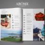 AROME журнал № 4 осень 2015 soderzhanie zhurnala aromaterapiya